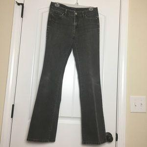 White House Black Market Boot Leg Jeans Size 4 Reg